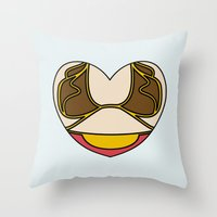 Slave Leia Character Hea… Throw Pillow