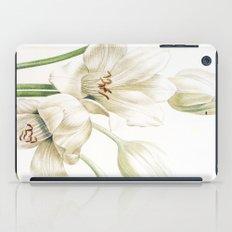 VI. Vintage Flowers Botanical Print by Pierre-Joseph Redouté - Crinum Jagus iPad Case