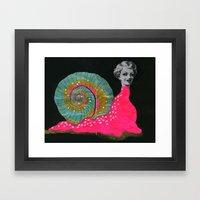 Slug Slut Framed Art Print