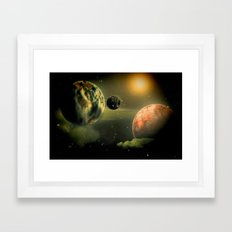 Space One Framed Art Print