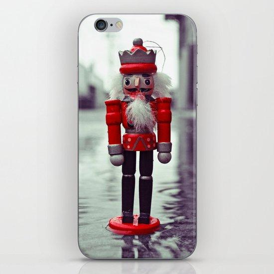 Urban nutcracker iPhone & iPod Skin