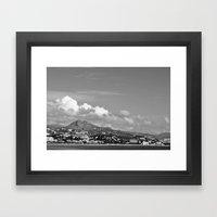 Managa Framed Art Print