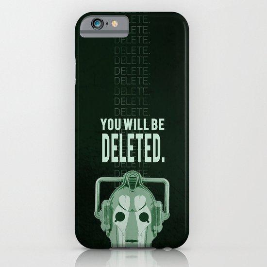 Doctor Who: Cybermen Print iPhone & iPod Case