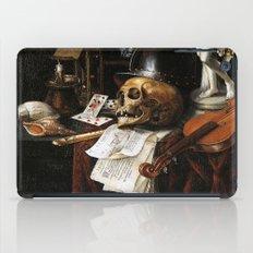 Vintage Vanitas- Still Life with Skull 3 iPad Case