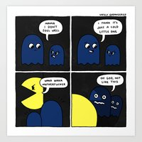 Pacman's Revenge: A True… Art Print