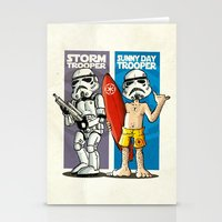 Storm and Sunny Day Trooper Stationery Cards