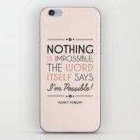 I'm Possible! iPhone & iPod Skin