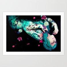 Bloom to fall apart Nr.2 Art Print