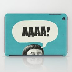AAAA! (Blue) iPad Case