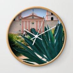 Santa Barbara Mission Wall Clock