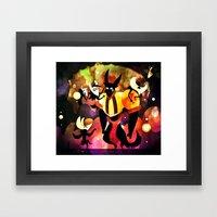 Eetso Framed Art Print