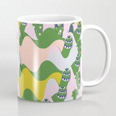 Whimsical mountains Mug
