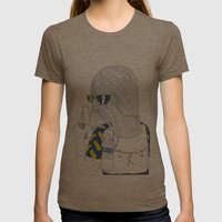 Summer Monster Womens Fitted Tee Tri-Coffee SMALL