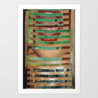 Mouth-House Art Print