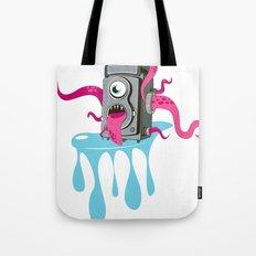 Monster Camera Tote Bag