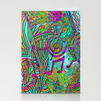 Magical Music Mandala Stationery Cards
