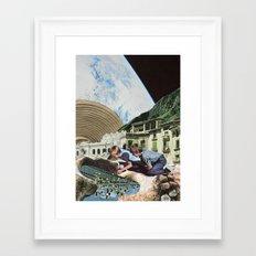 Lush life by Zabu Stewart Framed Art Print