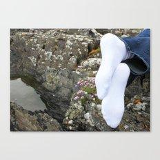 Irish Socks Canvas Print