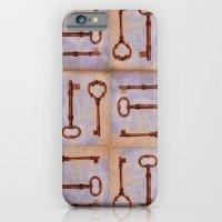 keys to secret doors iPhone 6 Slim Case