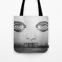 If this wall could talk Tote Bag
