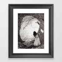 Wendy In Neverland Framed Art Print