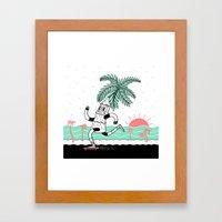 If You Don't Like Where … Framed Art Print
