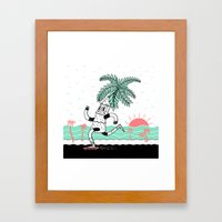If you don't like where you are, MOVE. You're not a tree Framed Art Print