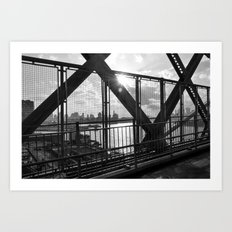 Williamsburg Bridge Art Print