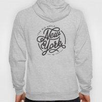 New York - White Hoody