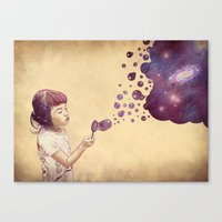 Cosmic Bubbles Canvas Print
