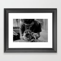 Rollieflex Framed Art Print