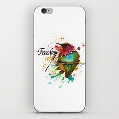 Freedom of colors iPhone & iPod Skin