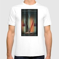 MERCURY JT450 Mens Fitted Tee White SMALL