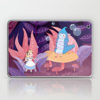 Alice In Wonderland and The Caterpillar Laptop & iPad Skin