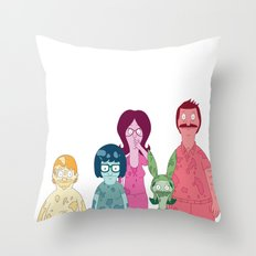 Bob's Burgers  Throw Pillow
