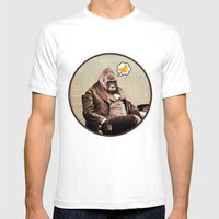 Gorilla My Dreams Mens Fitted Tee White SMALL