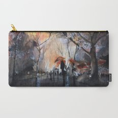 Autumn rain - watercolor Carry-All Pouch