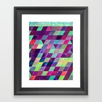 Thryydyy Framed Art Print