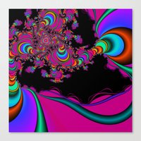 Colorful Ecstasy Canvas Print