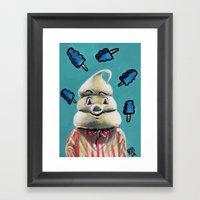 Pete And Pete Mr Tastee … Framed Art Print