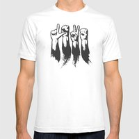 Hands Of Love Mens Fitted Tee White SMALL