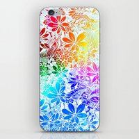 Flying Through Rainbows iPhone & iPod Skin