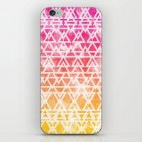 Tribal Watercolor iPhone & iPod Skin