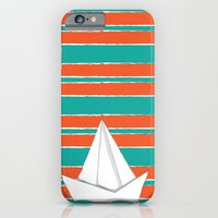 iPhone & iPod Case featuring PaperBoat by LaPetiteJo