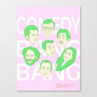 Comedy Bang Bang Canvas Print