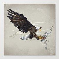 Air Fighter Canvas Print