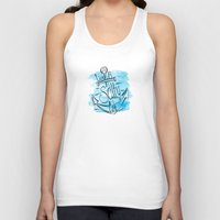Live A Salty Life - Blue Unisex Tank Top