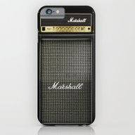 iPhone & iPod Case featuring Guitar Electric Amp Ampl… by Three Second