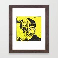 Pecker Portrait in yellow | John Waters Framed Art Print
