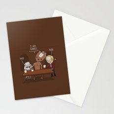 Who am I? Stationery Cards
